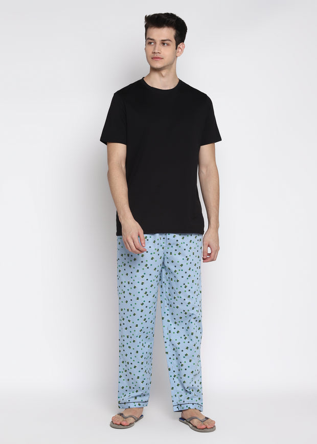 Beer Print Men's Pyjama Bottoms
