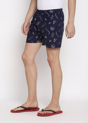 Lets Eat Print Men's Boxer