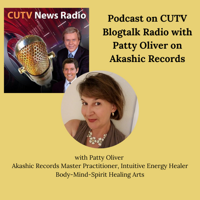 CUTV Podcast on Akashic Records with Patty Oliver
