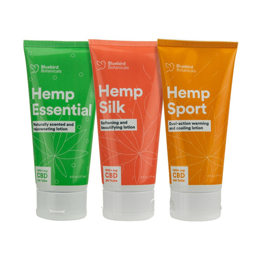 CBD Hemp Lotion 6oz (1250mg CBD) - bubba-skunk