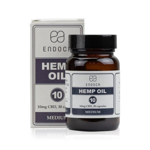 Hemp Oil Capsules-Endoca-Bubba Skunk