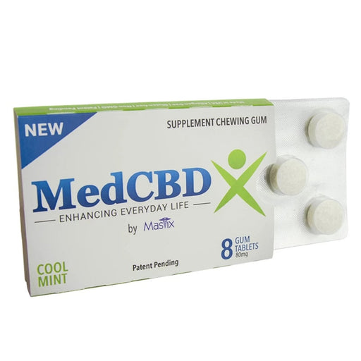 CBD Gum 8 Pack (80mg CBD) (10mg/ea) - bubba-skunk