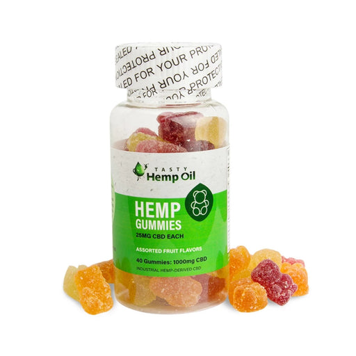 CBD Oil Gummies-Tasty Hemp Oil-Bubba Skunk
