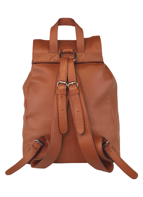 Tucker Tweed Equestrian Leather Handbags Hunter Jumper - Chestnut Brandywine Backpack: Hunter/Jumper
