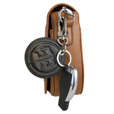 Tucker Tweed Equestrian Leather Handbags Signature Tucker Tweed Equestrian Keychains