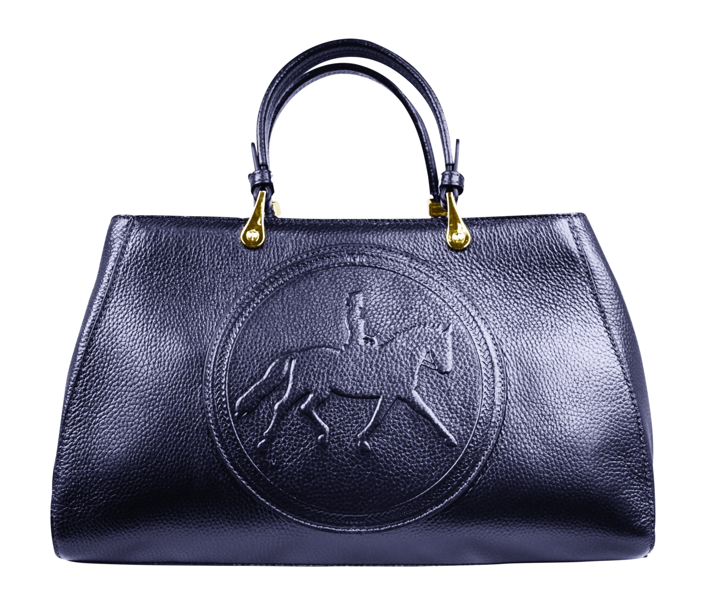 Tucker Tweed Leather Handbags Nautical Navy / Dressage Sedgefield Legacy: Dressage