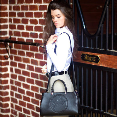 Tucker Tweed Leather Handbags Sedgefield Legacy: Hunter/Jumper