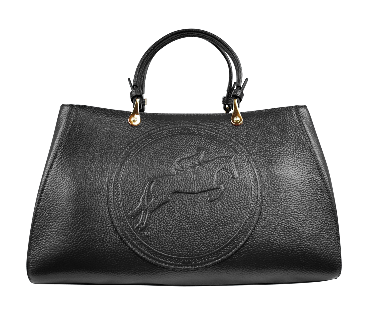 Tucker Tweed Leather Handbags Black / Hunter/Jumper Sedgefield Legacy: Hunter/Jumper