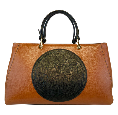 Tucker Tweed Leather Handbags Chestnut/Black / Hunter/Jumper Sedgefield Legacy: Hunter/Jumper