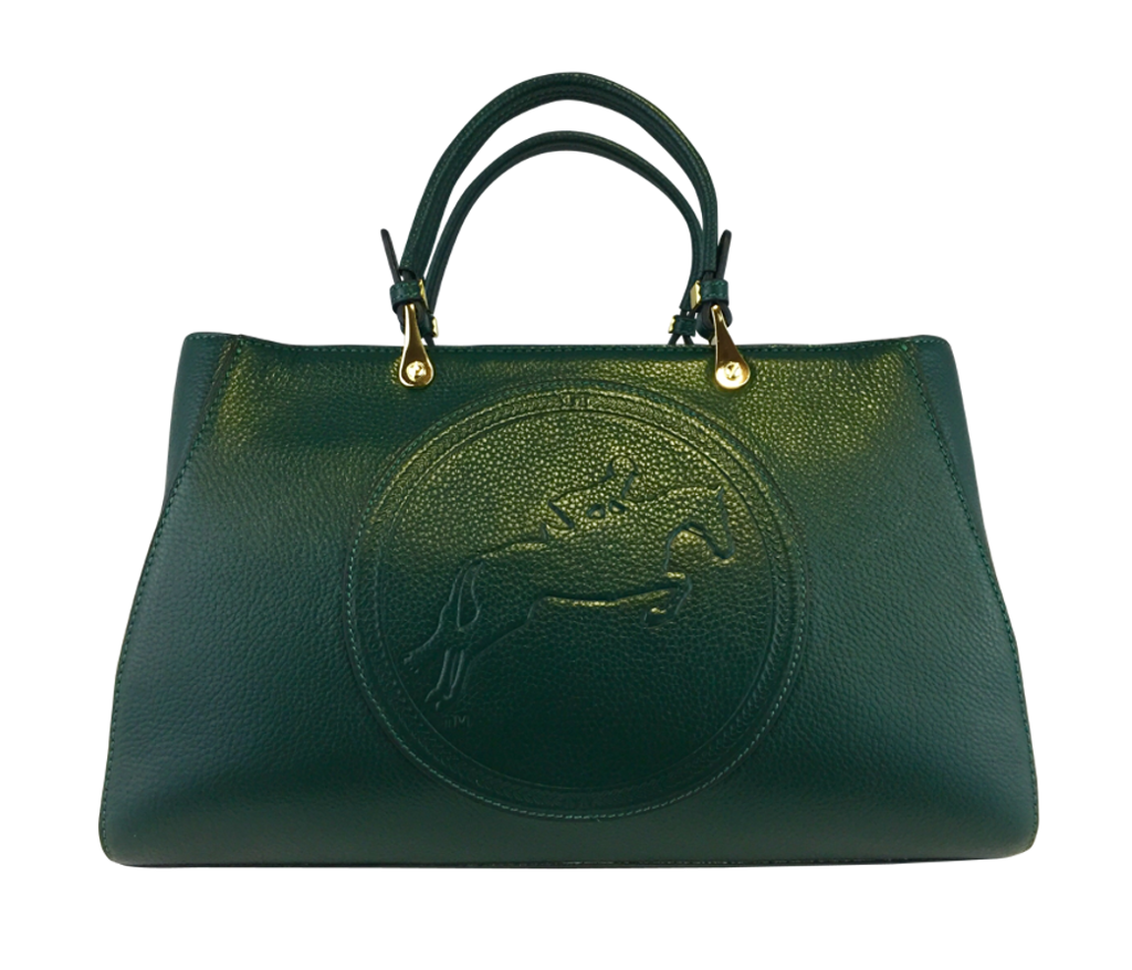 Tucker Tweed Leather Handbags Hunter Green / Hunter/Jumper Sedgefield Legacy: Hunter/Jumper