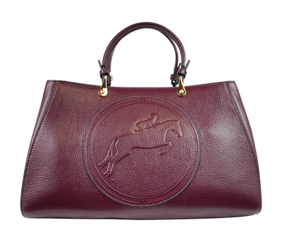 Tucker Tweed Leather Handbags Mulberry / Hunter/Jumper Sedgefield Legacy: Hunter/Jumper
