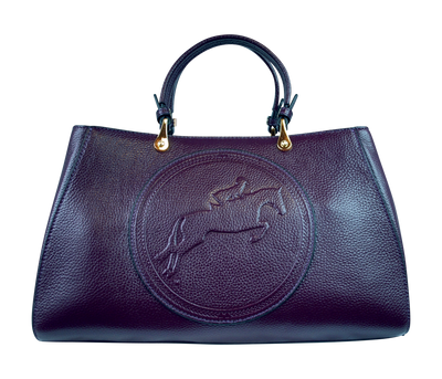 Tucker Tweed Leather Handbags Nautical Navy / Hunter/Jumper Sedgefield Legacy: Hunter/Jumper