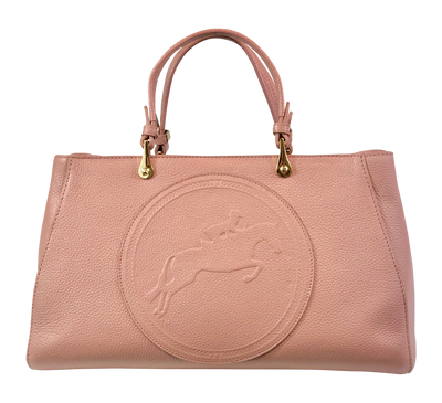 Tucker Tweed Leather Handbags Rosé / Hunter/Jumper Sedgefield Legacy: Hunter/Jumper