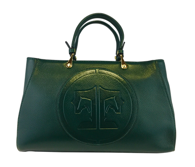 Tucker Tweed Leather Handbags Hunter Green / Signature Sedgefield Legacy: Signature