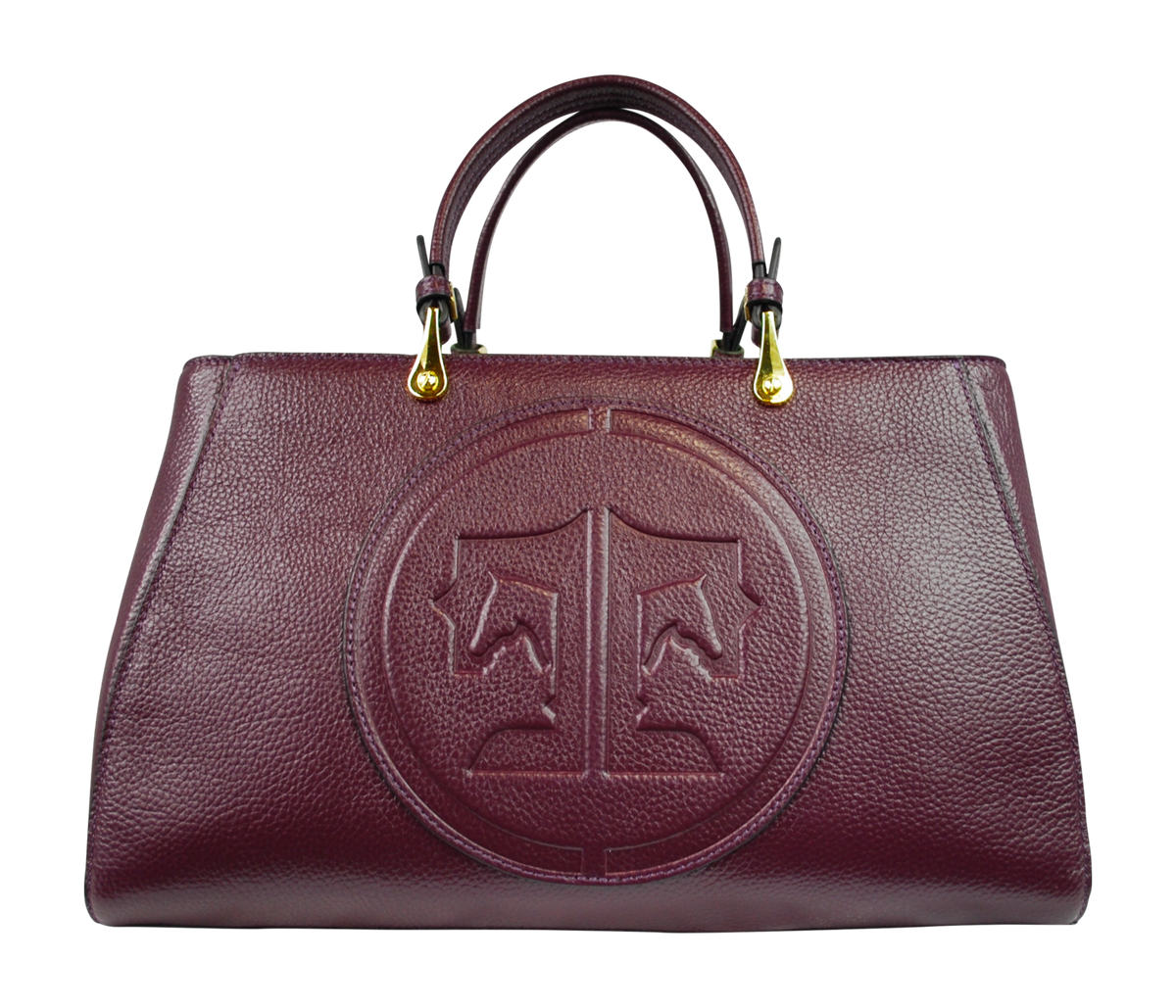 Tucker Tweed Leather Handbags Mulberry / Signature Sedgefield Legacy: Signature
