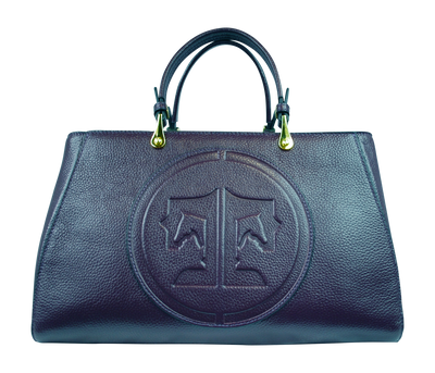 Tucker Tweed Leather Handbags Nautical Navy / Signature Sedgefield Legacy: Signature