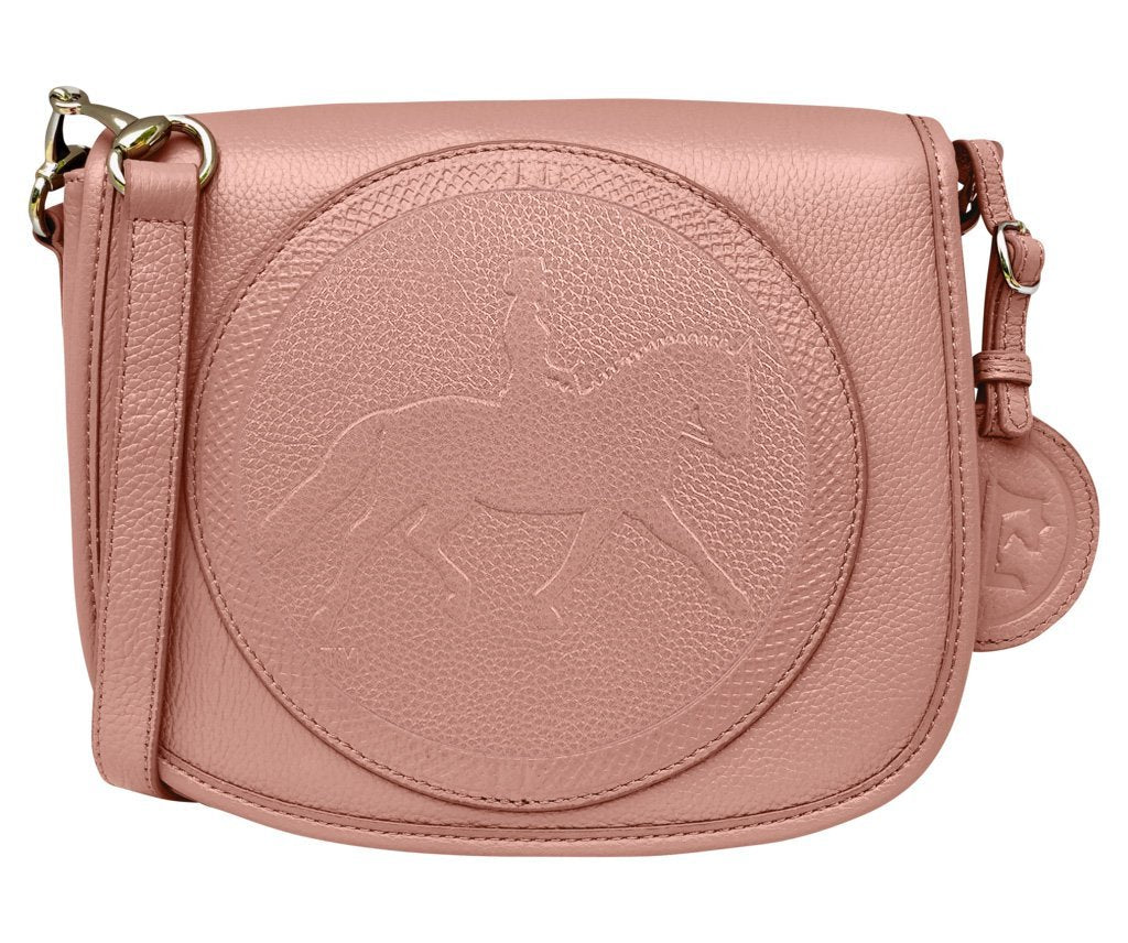 Tucker Tweed Leather Handbags Rosé / Dressage The Camden Crossbody: Dressage