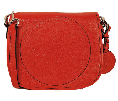 Tucker Tweed Leather Handbags Scarlet / Dressage The Camden Crossbody: Dressage