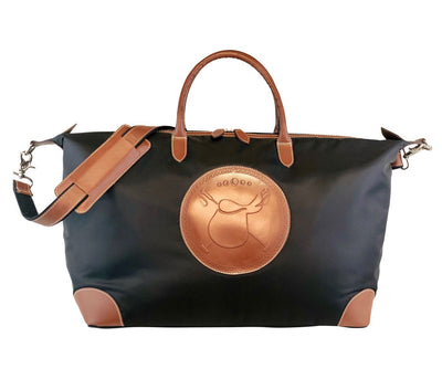 Tucker Tweed Leather Handbags The Tryon Travel Overnight: Polo