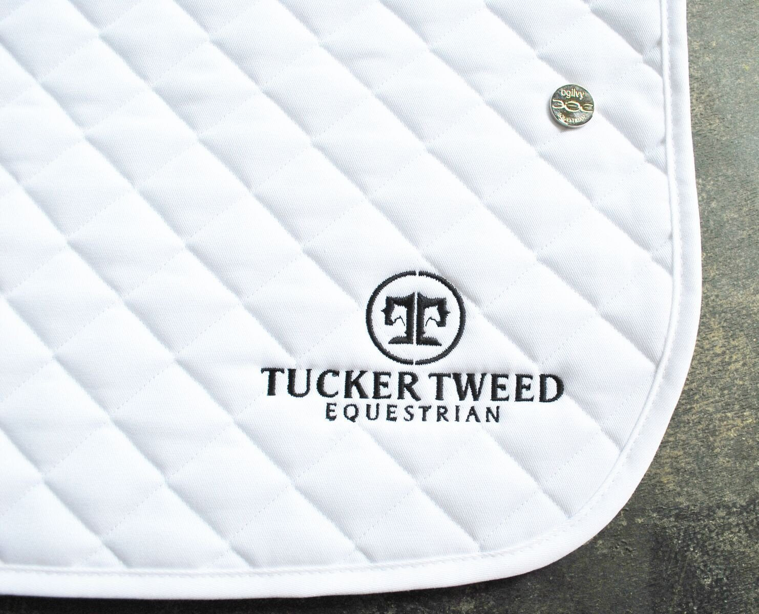 Tucker Tweed Leather Handbags The Tucker Tweed Signature Baby Pad by Ogilvy Dressage