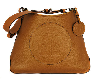 Tucker Tweed Leather Handbags Chestnut / Signature The Tweed Manor Tote: Signature