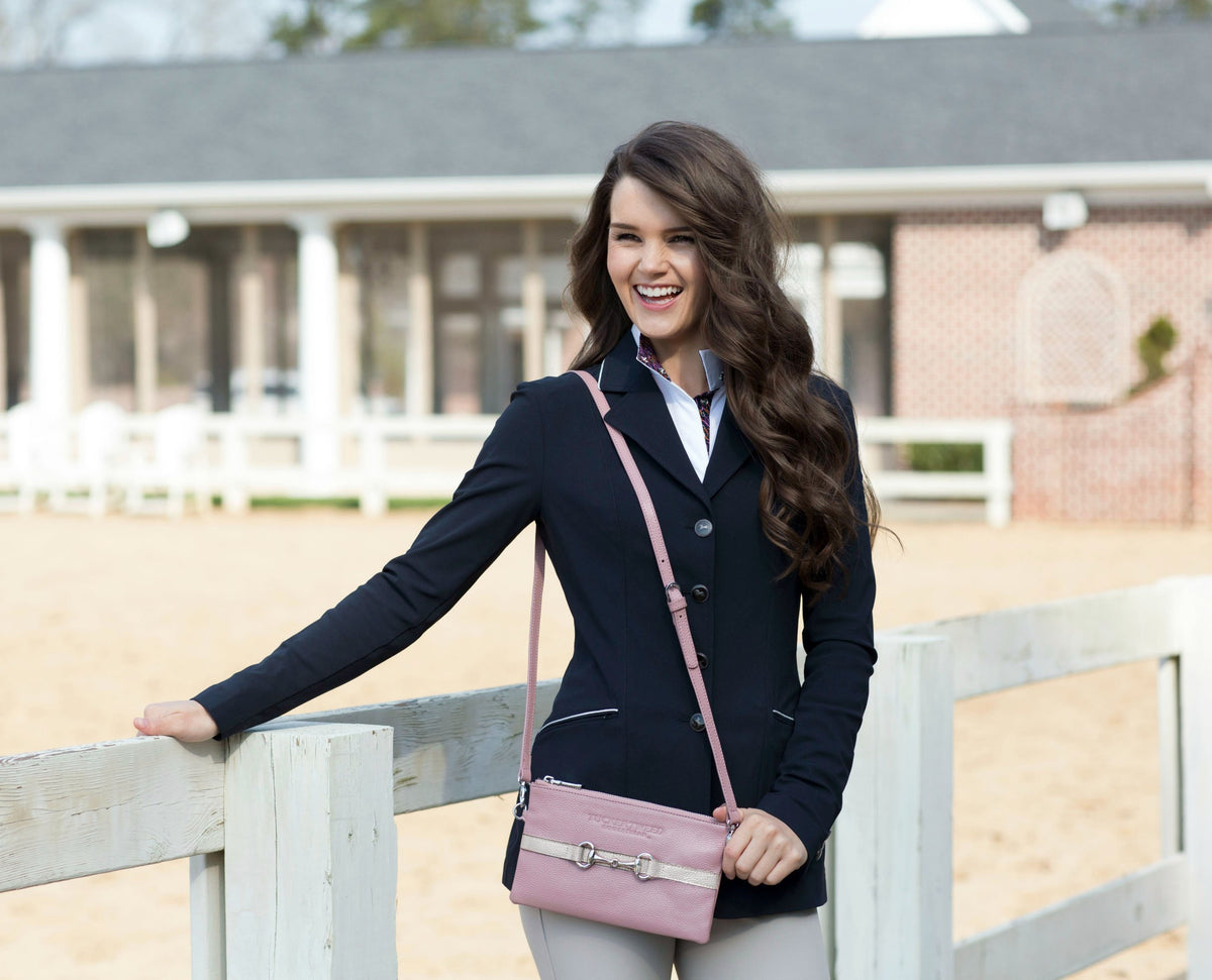 Tucker Tweed Leather Handbags The Wellington Wristlet