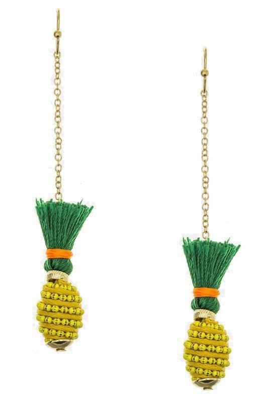 """FRUITYLICIOUS""-TASSEL EARRINGS - Lala Shoes"