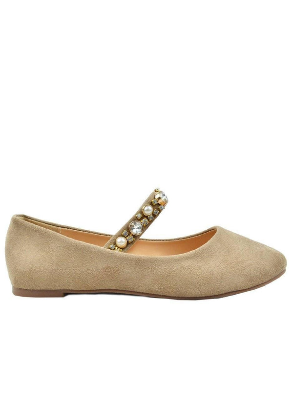 """BE PART OF SPRING""- MARY JANE BALLET FLAT"