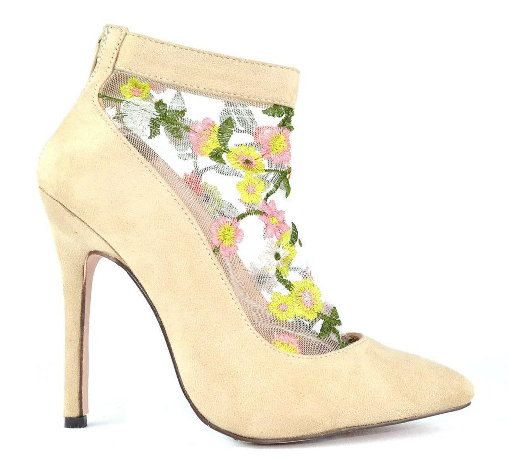 """TASTE THE BEAUTY"" - HEELED BOOTIES - Lala Shoes"