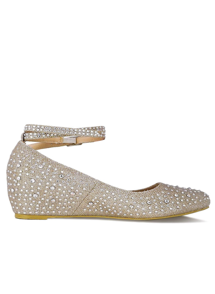 """ARIELLE PENA"" - WOMEN'S SLIP ON WEDGES - Lala Shoes"