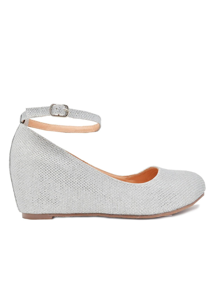 """ANDER""- WOMEN'S ANKLE STRAP WEDGE - Lala Shoes"