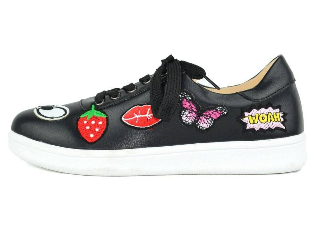 """SEE HOW GOOD THEY FEEL."" - EMBROIDERED SNEAKER - Lala Shoes"
