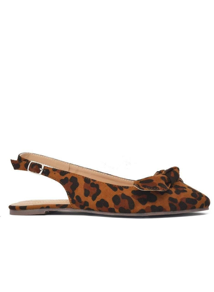 """WRAP IT UP""-SLINGBACK FLAT - Lala Shoes"