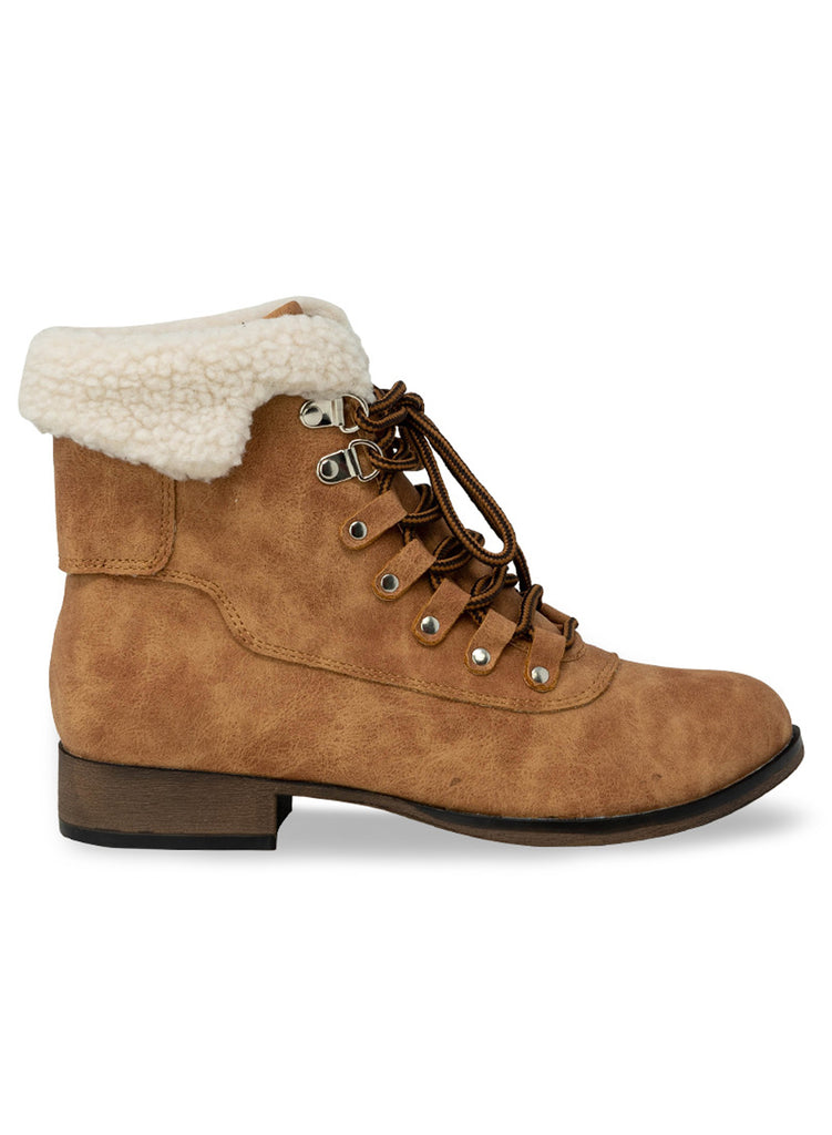 """TRINITY"" - TAN SUEDE CHELSEA ANKLE BOOTIE"