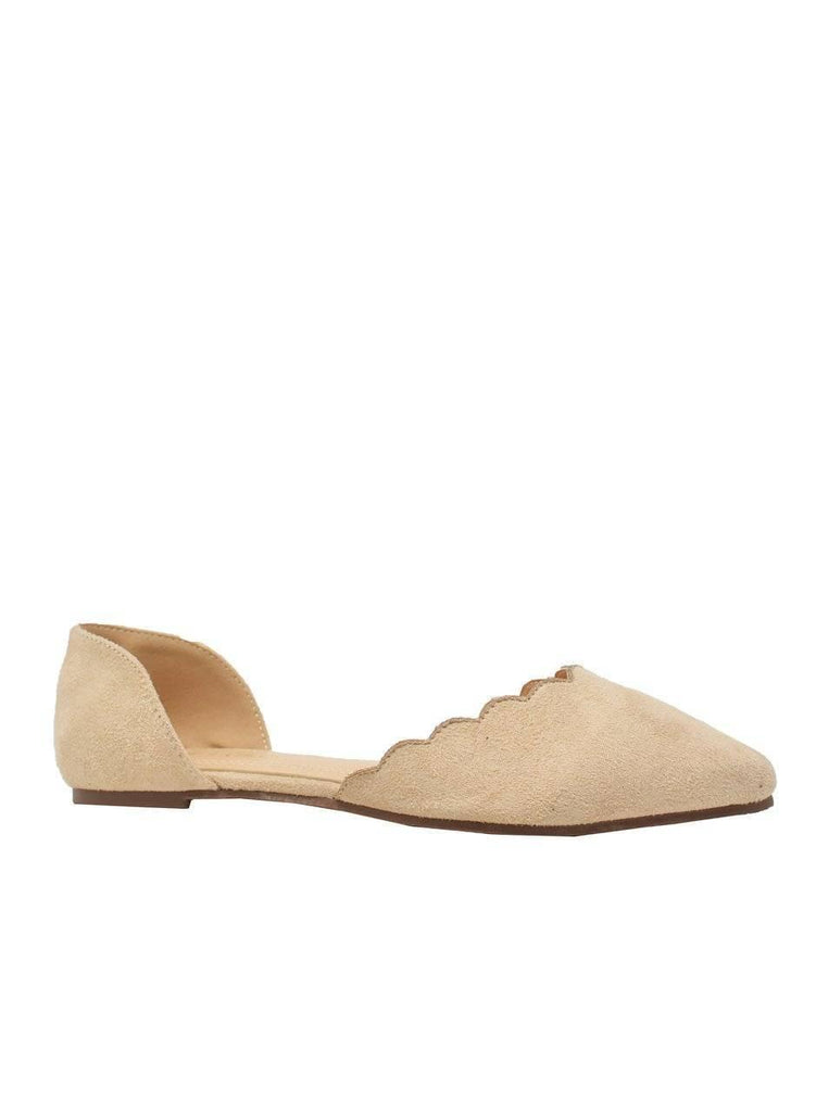 """DANCING QUEEN""-POINTED TOE FLAT - Lala Shoes"