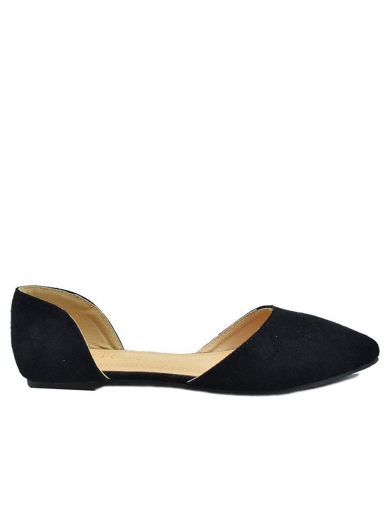 """PASSION FOR ADMIRE""- FLAT BALLET - Lala Shoes"