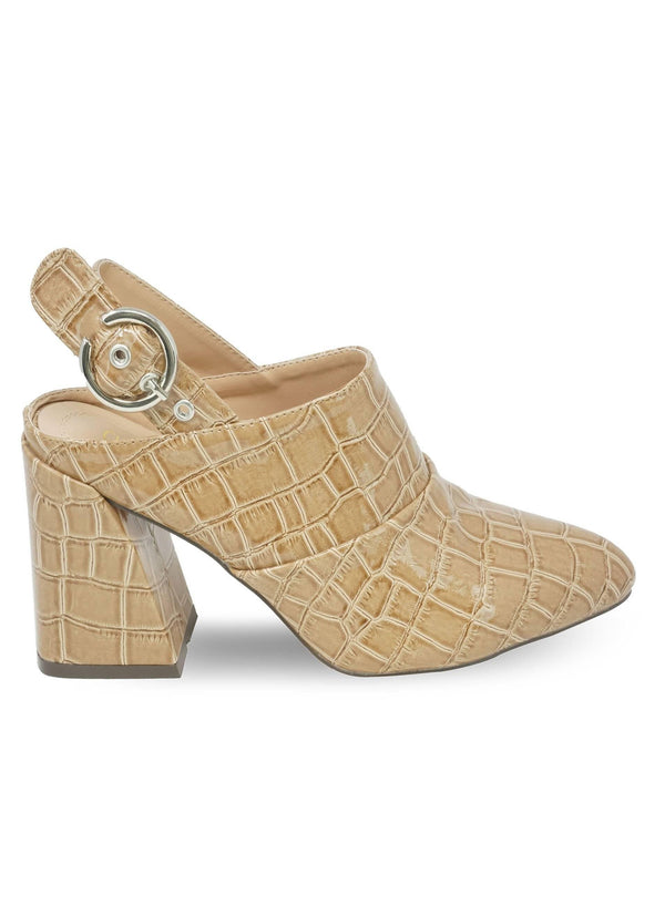 """ODESSA"" - WOMEN'S CHUNKY ANKLE STRAP BOOTIES - Lala Shoes"