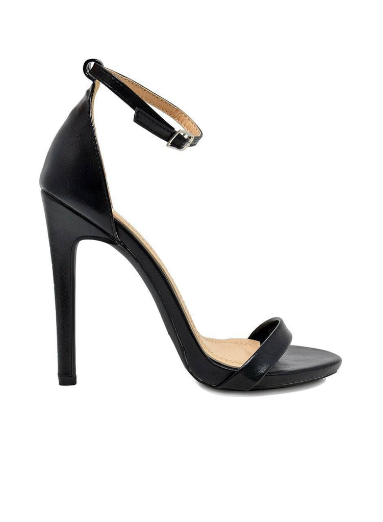 """GIGI"" ANKLE STRAP HEEL - Lala Shoes"