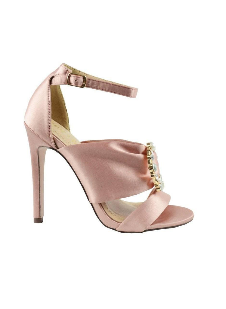 """TURN LOOSE THE BEAUTY"" - HEELED SANDAL - Lala Shoes"