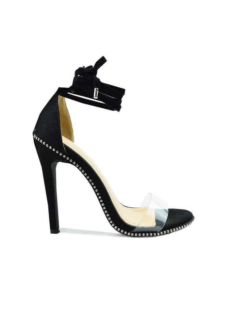 """STRAPPY...ONE IS NOT ENOUGH""-STRAPPY HEEL - Lala Shoes"