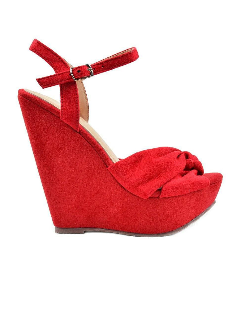 """TRULY WEDGE""- WEDGE SANDAL - Lala Shoes"
