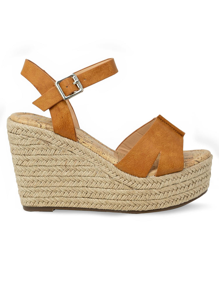 """WENDY"" - WOMEN'S WEDGE ESPADRILLE - Lala Shoes"