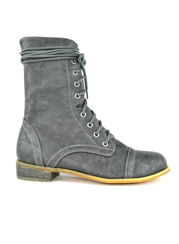 """WARFARE, PURE LUST"" - COMBAT BOOT - Lala Shoes"