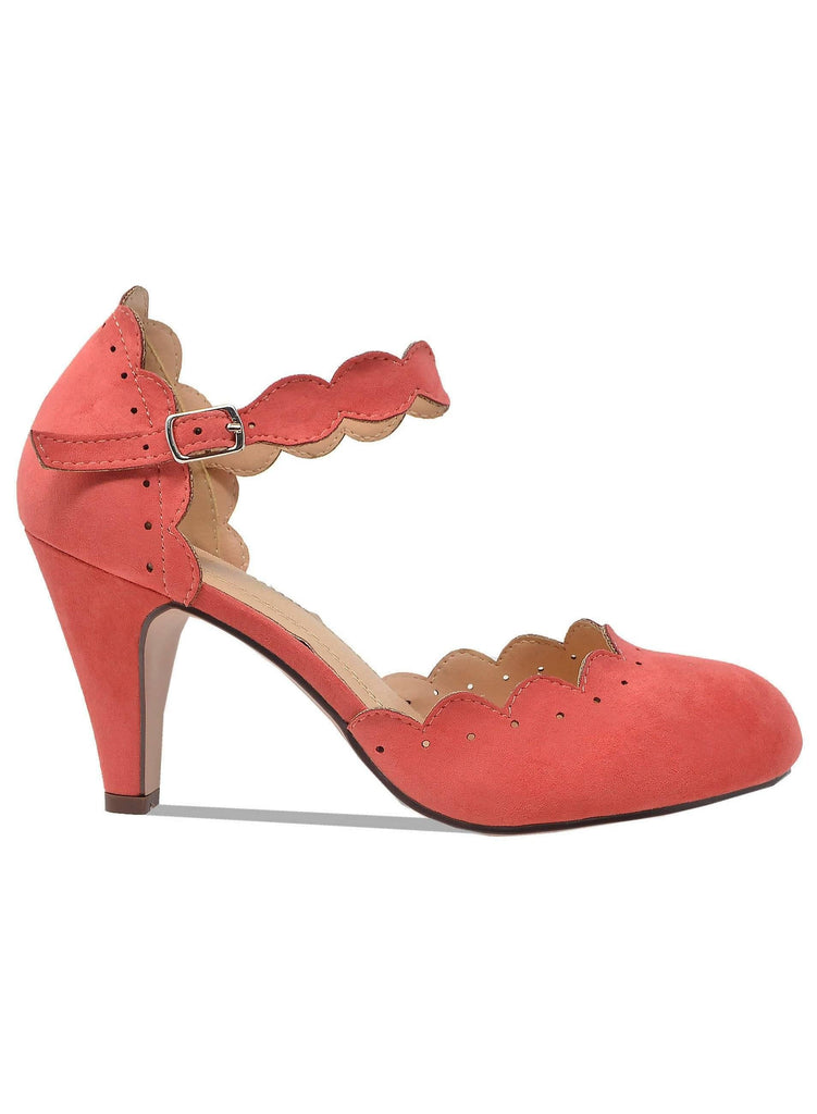 """JACQUELINE""- WOMEN'S ANKLE STRAP HEELS - Lala Shoes"