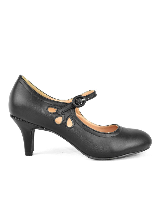"""ELIZA""-WOMEN'S MARY JANES HEELS - Lala Shoes"