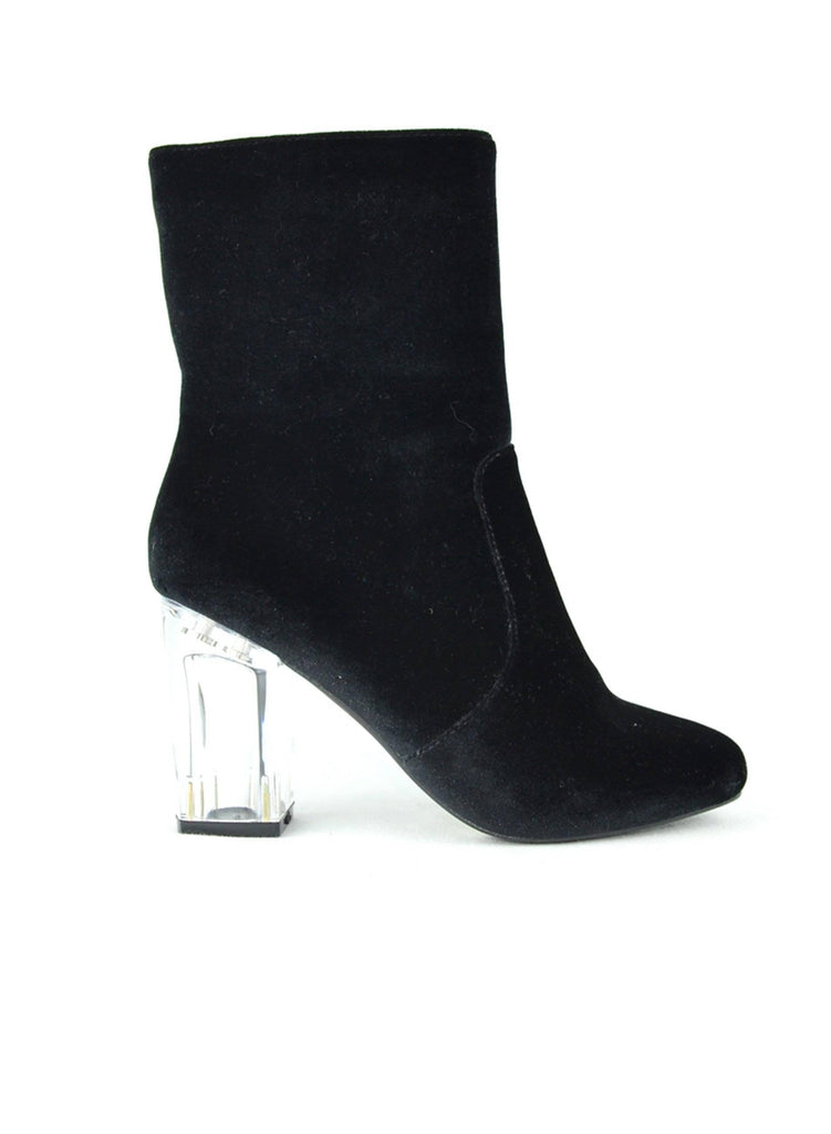 """WANDA"" - WOMEN'S CHUNKY HEEL BOOTS - Lala Shoes"