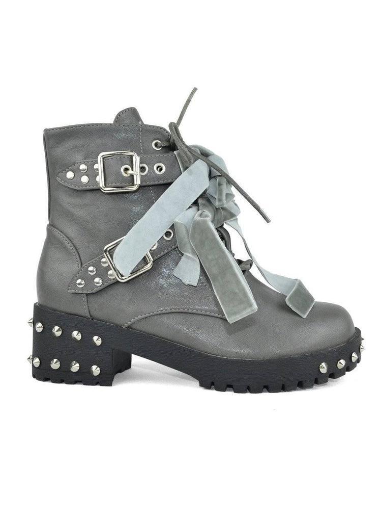 """THE COMBAT BEAT"" - COMBAT BOOT - Lala Shoes"