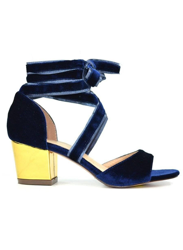 """WRAPPED UP WITH PROM"" - BLOCK HEEL SANDAL"