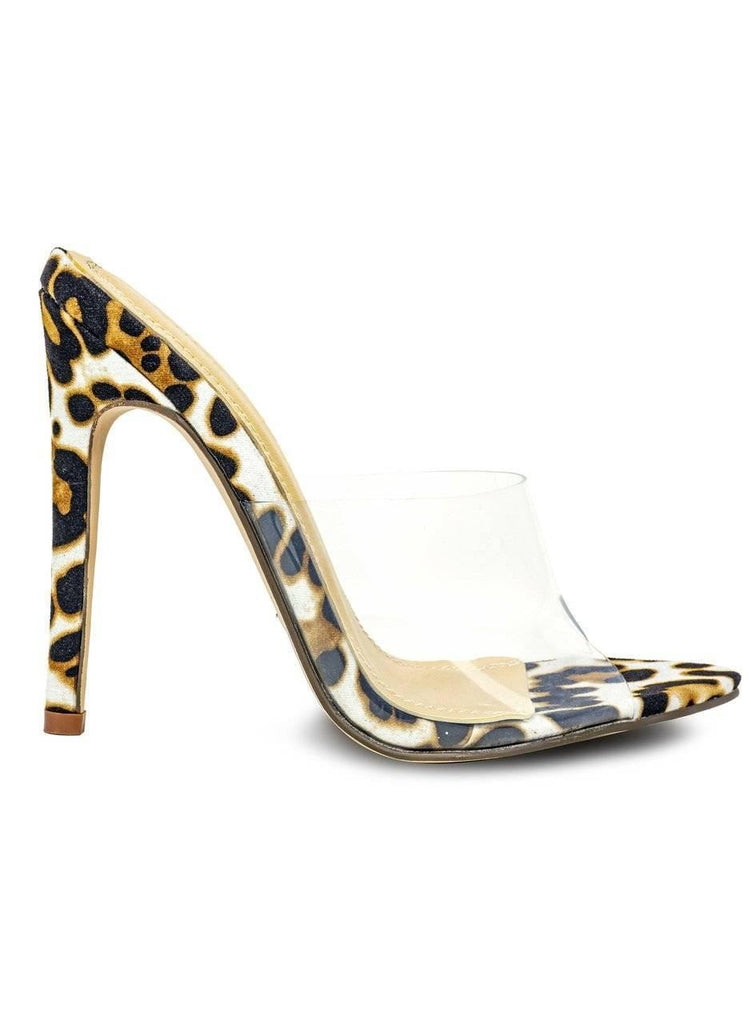 """CLEAR GOALS"" LUCITE FRONT HEELS - Lala Shoes"