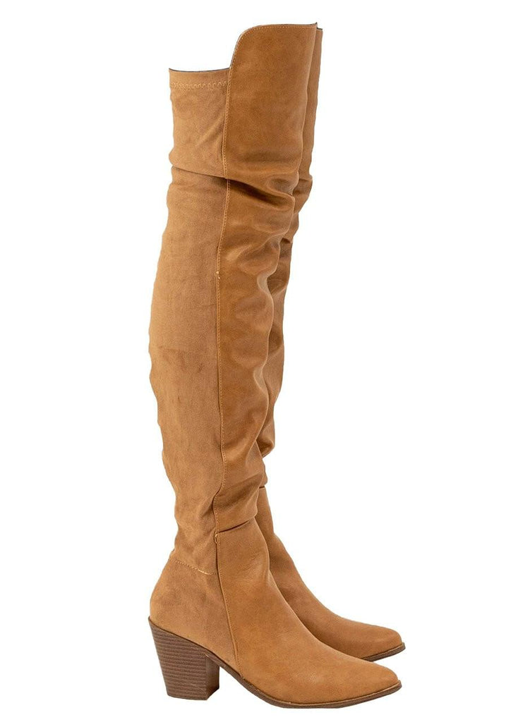 """BRYANY"" - OVER THE KNEE BOOT - Lala Shoes"